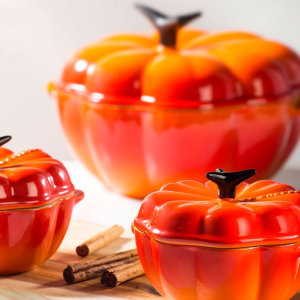 Free Petite Pumpkin Cocotte ($30 Value)with Orders $150+ @ Le Creuset