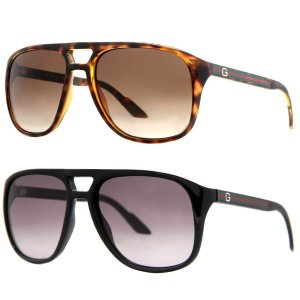 $86Gucci GG 1018/S Men's Gradient Aviator Sunglasses