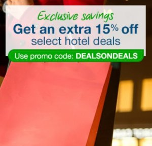 Extra 15% OffSelect Hotel Sale @ Orbitz