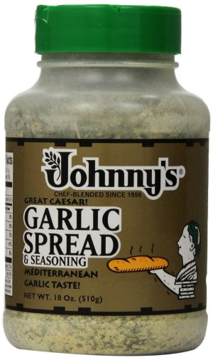$5 Johnny's Garlic Spread and Seasoning, 18 Ounce