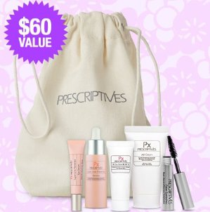 Get a Free Summer Package ($60 Value)with Any $50 Purchase @ Prescriptives
