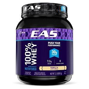 $10.80 包邮EAS 100% Pure 香草味蛋白粉 2磅
