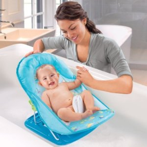 $6 Summer Infant Deluxe Baby Bather, Blue