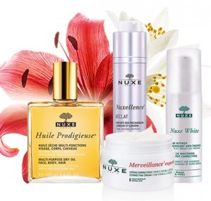 Up to 3 Gifts + $15 Offwith Skincare Products Purchase @ Nuxe