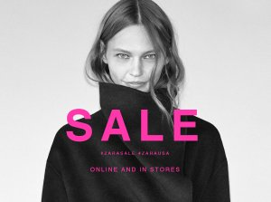 Up to 50% OffSelected Items @ Zara