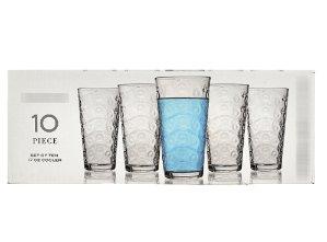 $3.99Parade 玻璃杯十件套, 17盎司