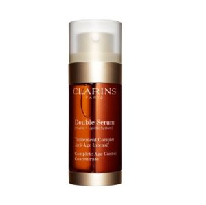 $45.59 Clarins Double Serum Complete Age Control Concentrate for Unisex, 1 Ounce