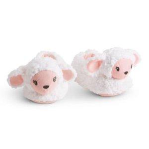 $11Lamb Slippers for Little Girls