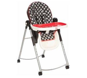 $79 Disney AdjusTable High Chair, Mickey Silo