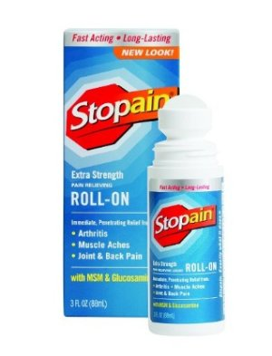 $7 Stopain Extra Strength Pain Relief Roll-On, 3 Ounce