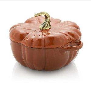 $179Staub ® 3.5-qt Enamel Cast Iron Pumpkin Cocotte