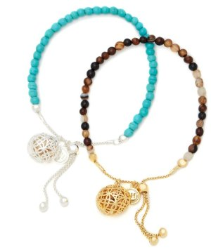 Dealmoon Exclusive: $75Turquoise & Sand Friendship Bracelet Duo