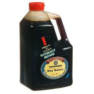 $5.29 Kikkoman Soy Sauce, 64-Ounce Bottle (Pack of 1)