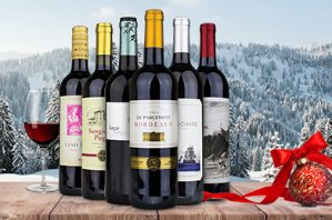 $296 Bottles of International Red Wine + $100 eGift Card
