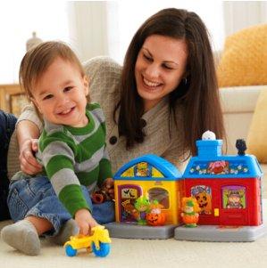 满$25享8折Fisher Price费雪官网精选Little People系列玩具促销