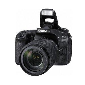 $749Canon EOS 80D DSLR Camera w/EF-S 18-135mm F3.5-56 IS USM Lens Black/promo Bundle