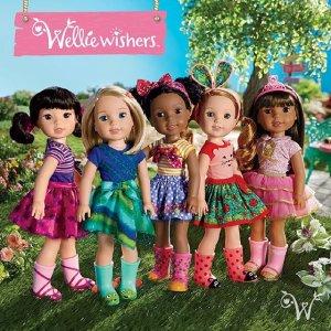 满$50全场包邮American Girl美国洋娃娃官网限时包邮