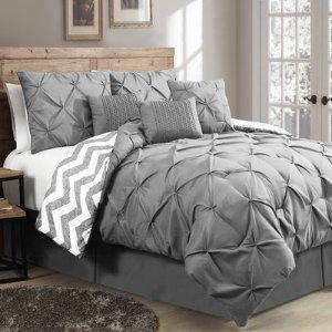 $60House of Hampton Germain 7 Piece Reversible Comforter Set