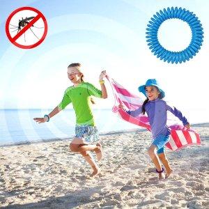 Free!Premium Mosquito Repellent Bracelets - 12 Pack