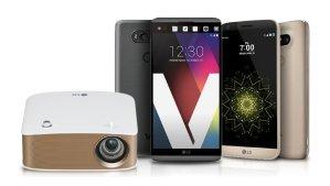 $360LG V20 64GB Smartphone+LG MiniBeam Projector