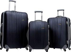 $104.99 超值好价Traveler's Choice 旅行箱3件套(29吋, 25吋和21吋)