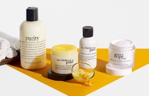 Up to Free 6-pc Travel MinisSitewide @ philosophy