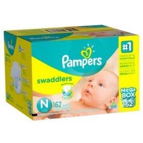 买2箱减$8 包邮Pampers 全系列尿布及湿巾促销