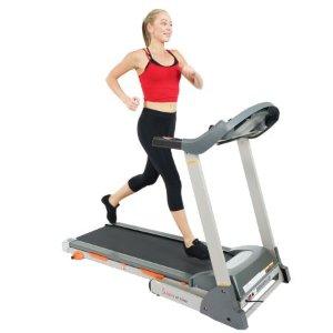 $249Sunny Health & Fitness T7635 Folding Treadmill w/ LCD Display