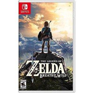 $45.00《塞尔达传说:荒野之息》 Nintendo Switch