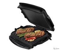 $44George Foreman 7 Serving Removable Plate Grill