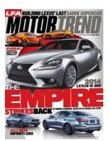 FREEMotor Trend Magazine 1-Year Digital Subscription (12 issues)