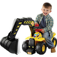 $24Fisher-Price Big Action Dig N Ride Excavator Ride On