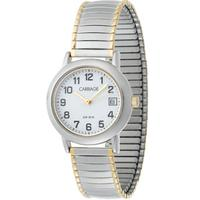 $22Carriage by Timex Women's Two-Tone Watch C3C363