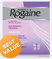 $49Women's ROGAINE Topical Solution 4 month Auto Delivery @Rogaine