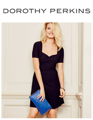 Extra 15% Off All Sale Items + 15% Off New Season Sale@ Dorothy Perkins