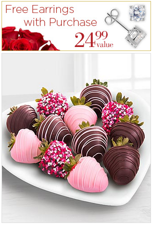 Free Cubica Zirconia Earringswith Purchase of Select Flowers and Gifts @ FTD.com