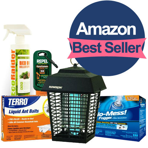 You deserve the protection!Best Sellers of Pest Control Products Roundup @Amazon