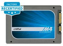 $29128GB factory recertified Crucial m4 SSD (7mm)