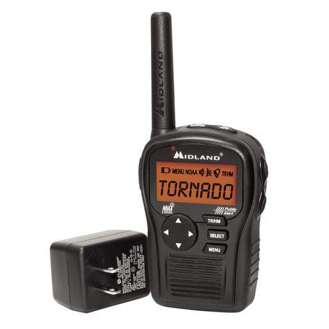 FreeMidland Radio H54 Portable Same Weather Alert Radio