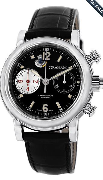 Extra $100 OffSelected Graham Watches @ Gemnation