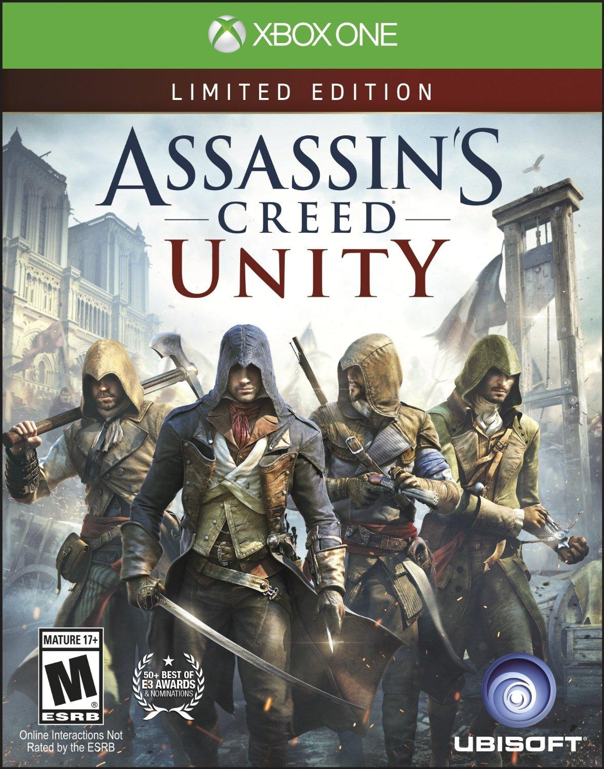 $12 Assassins Creed Unity Xbox One