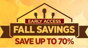 Save up to 70%Fall Doorbusters Early Access@ Musicians Friend