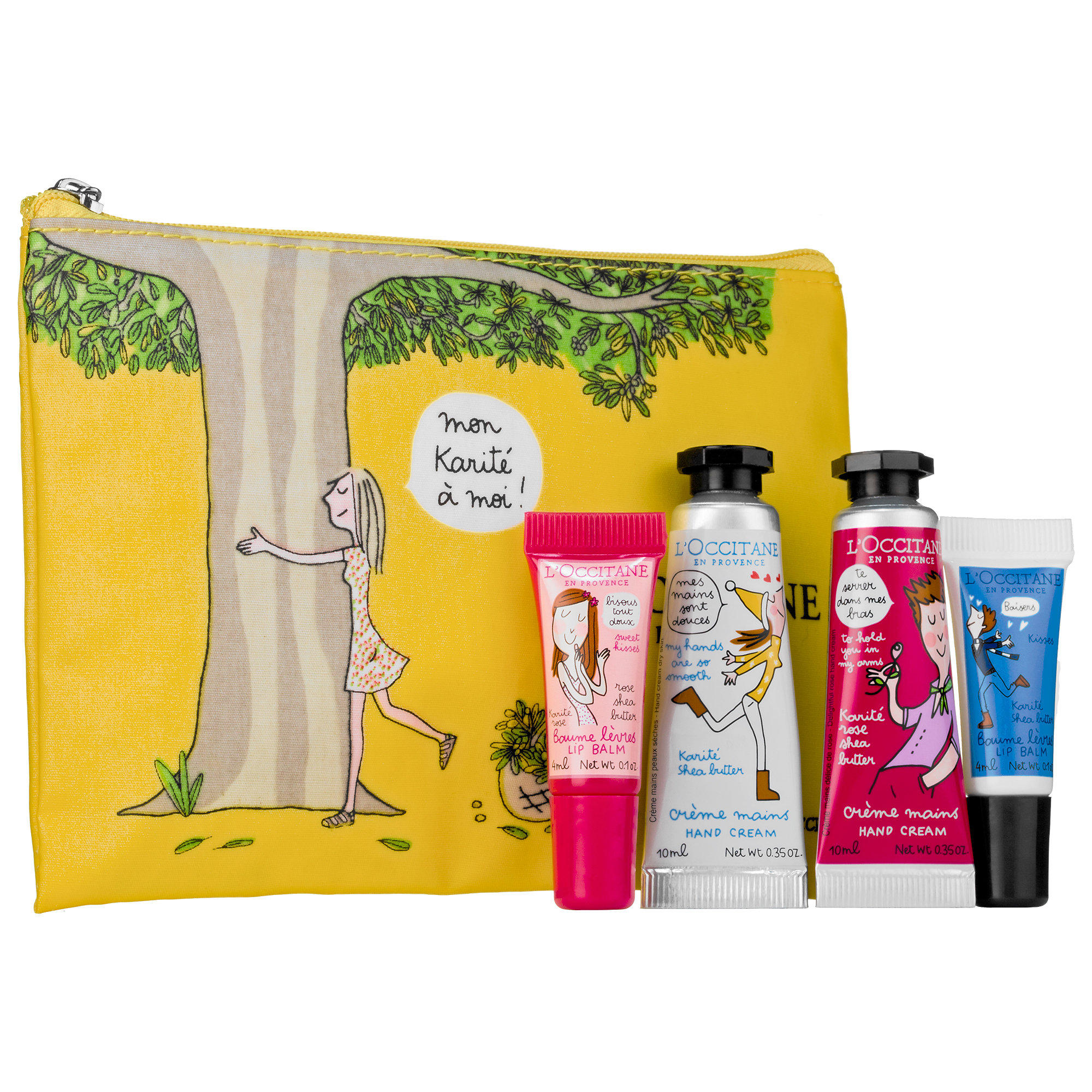 New Release L'Occitane launched Hugs & Kisses Hand & Lip Duo Set