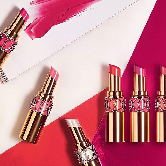 New Release YSL launched new ROUGE VOLUPTÉ SHINE OIL-IN-STICK