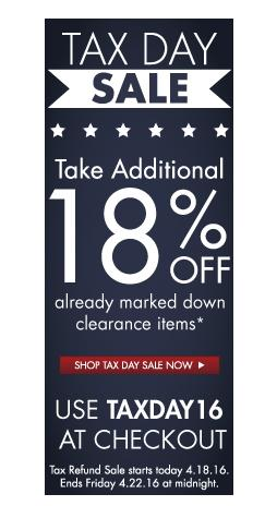 Extra 18% on clearance itemsZwilling J.A. Henckels TAX DAY SALE