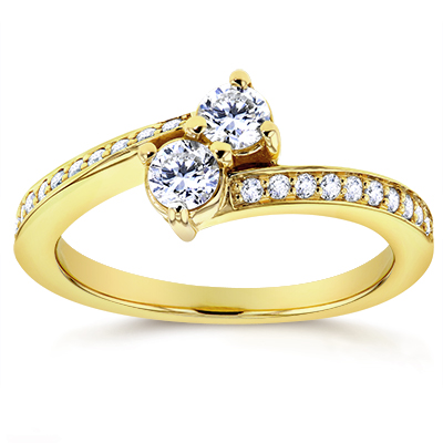Dealmoon Exclusive ! 60% Off2 Stone (diamonds) Collection @ Kobelli