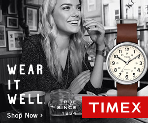 $15 OffYour Purchase @ Timex