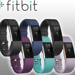 $149.99(原价$199.95)Fitbit Charge 2 心率检测多功能运动手环 (多色)