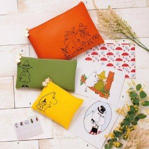 $8.4 / RMB53 直邮中美豪华附赠 GLOW 4月刊 送 Moomin 姆明 收纳包 贴纸 预售