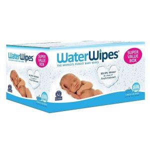 $18.74包邮WaterWipes 敏感肌肤用宝宝湿巾,540片